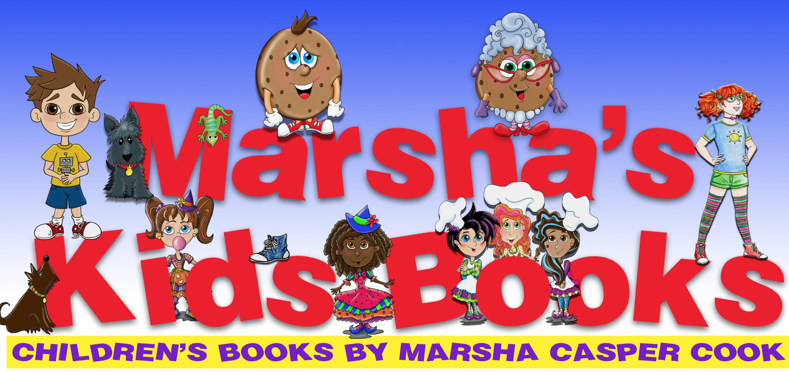 Marsha's Kids Books